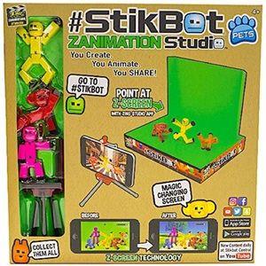 Funko - ROBO BLOX - StikBot Zanimation 3 Pc bundle